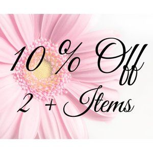 10 % OFF 2+ ITEMS